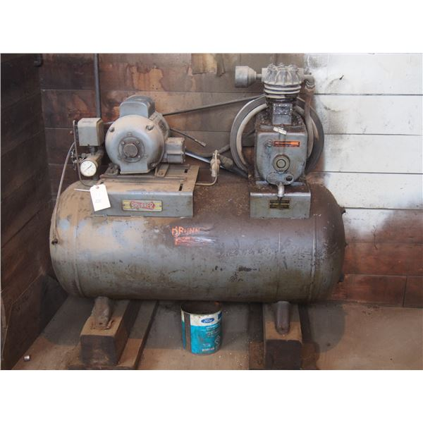 Brunner 1-1/2HP 300psi Air Compressor (NEEDS TO BE DISCONECTED
