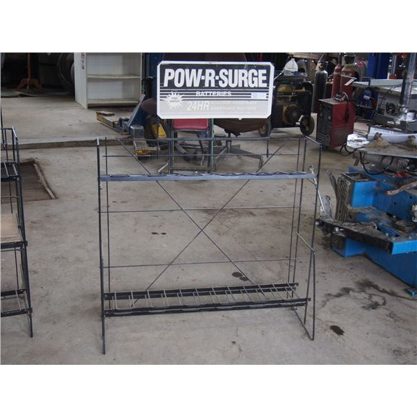 """Pow-R-Surge Battery Rack 37 by 7 by 35"""" T"""