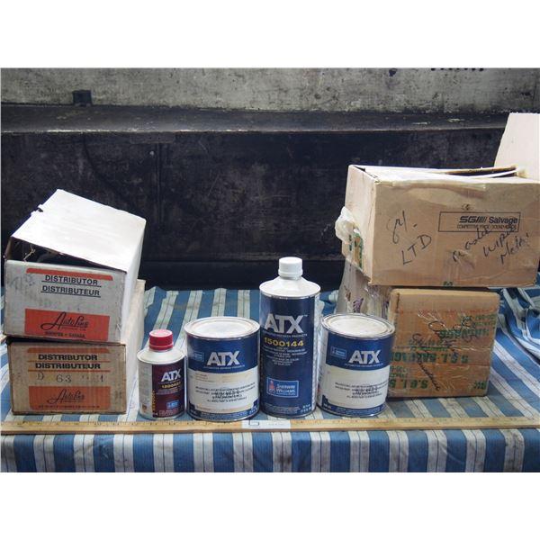 Distributors, Misc Auto Parts and Paints