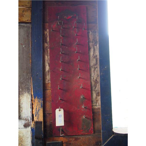 """Display Rack Vintage 12 by 39.5"""" L"""