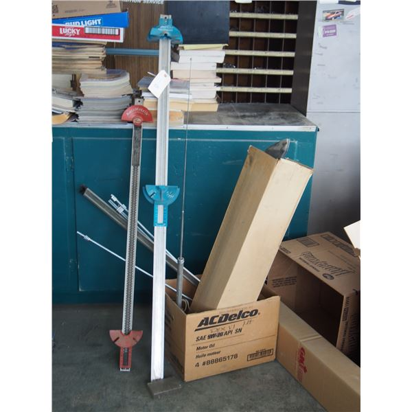 Belt Measuring Devices, Threaded Rod and Misc