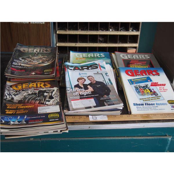 Gears Magazines