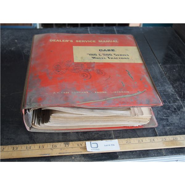 Case 700 & 800 Series Dealer Service Manual
