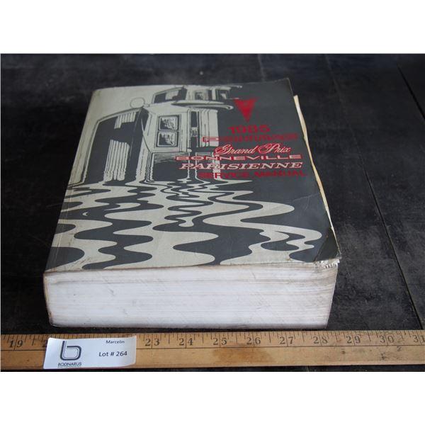 1985 Pontiac Gran Prix, Bonneville Parisienne Service Manual