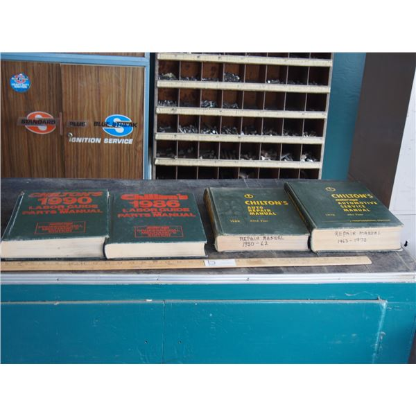 2X THE MONEY - Chilton's Service Manuals and Chilton's Labour Guide and Parts Manual