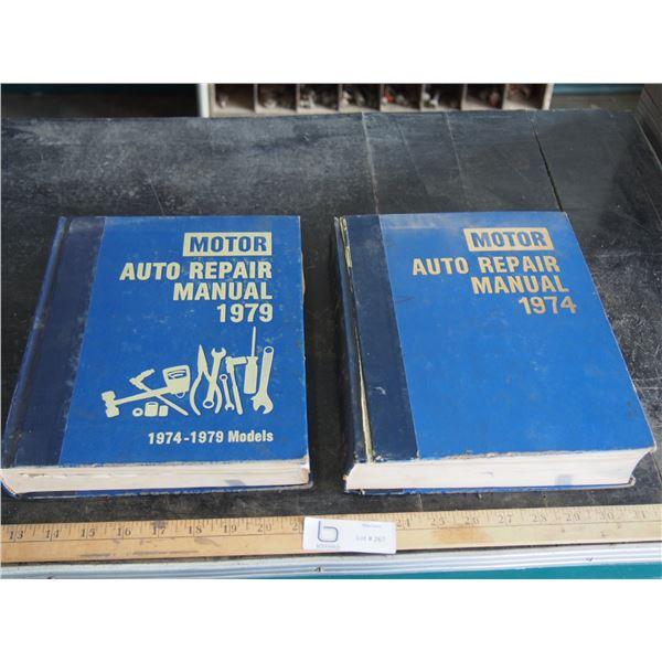 2X THE MONEY - Motor Auto Repair Manuals 1974/79