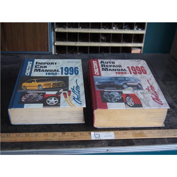 2X THE MONEY - Chilton's Auto Repair Manuals 1992-1966