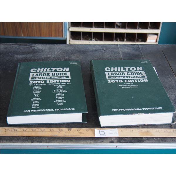 2X THE MONEY - Chilton Labour Guides 2010 Edition