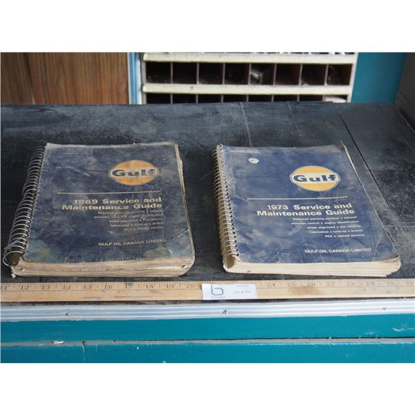 2X THE MONEY - Gulf 1969/73 Service and Maintenance Guides