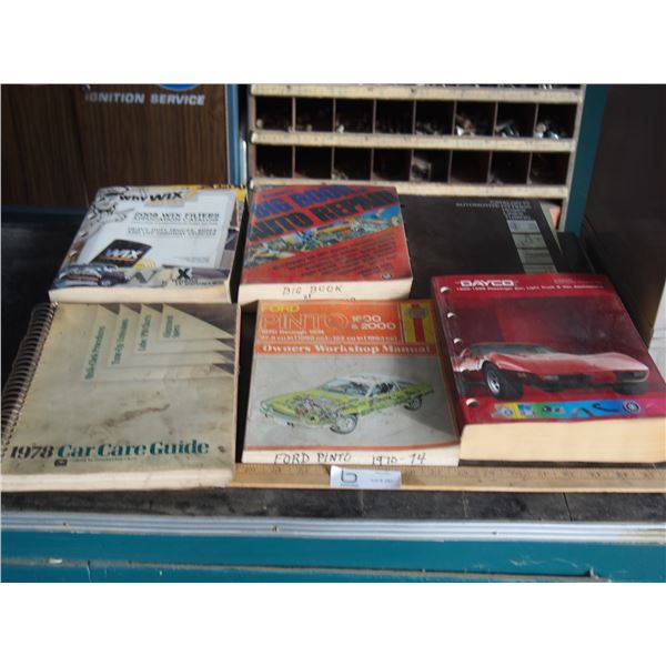 Auto Repair Manuals and Parts Catalogues