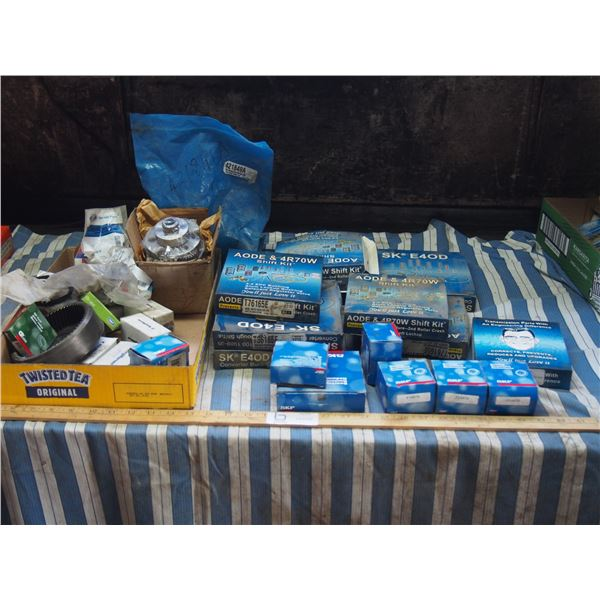 NOS Shift 12cts, Bearings, Oil Seal and Misc Parts