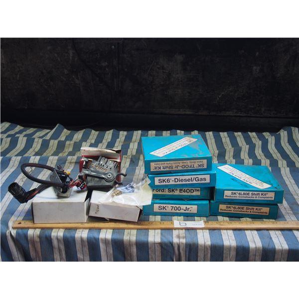 Shift Kits, Stoplight Switch, Plus Misc Parts NOS