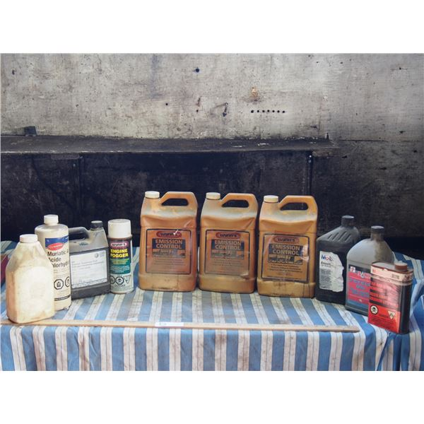 Wynn Emission Control Full Jugs (3), Marantic Acid and Misc