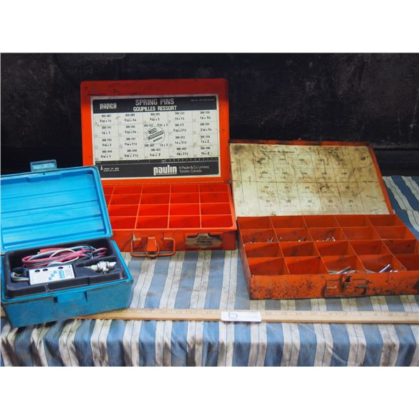 Electronic Ignition Analyzer, Plus Steel Cotter Pins and Spring Pins