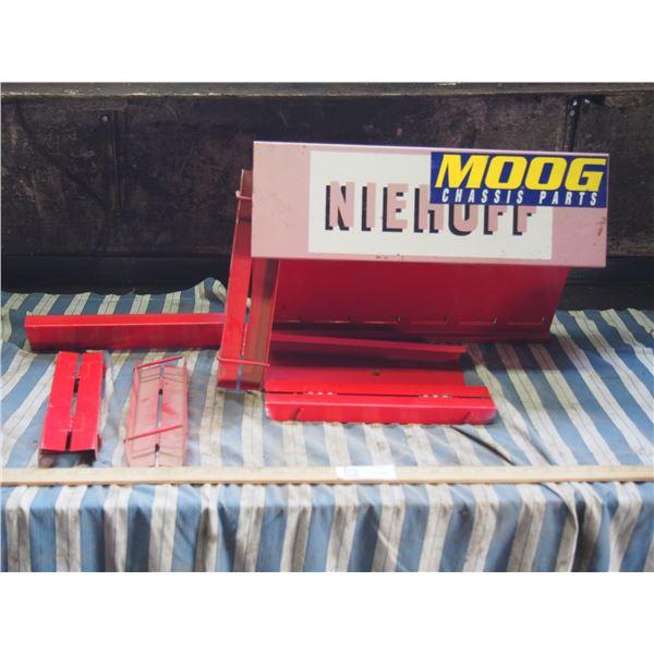 Niehuff Chassis Parts Metal Display Rack