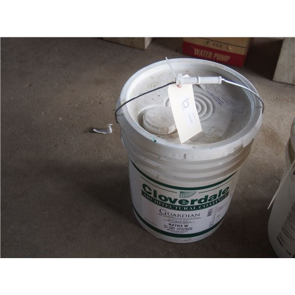 Cloverdale Hish Performance Exterior Acrylic Latex Barley White FULL Pail