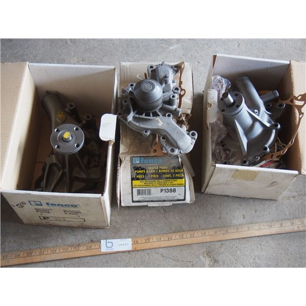 3X THE MONEY - NOS Water Pumps