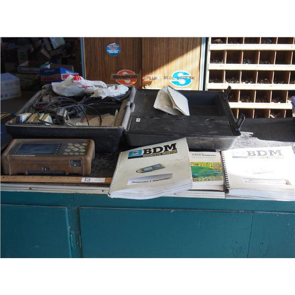 Blue Streak BDM Pro Diagnostic Monitor, Manual and Case