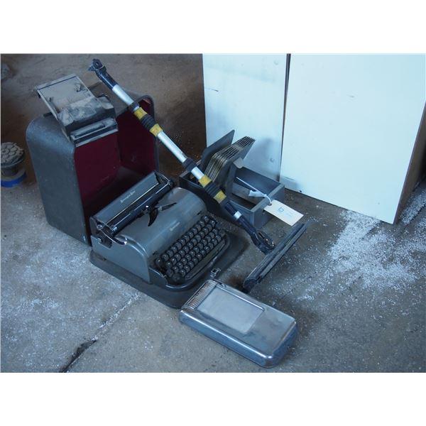 Typewriter Remington and Misc