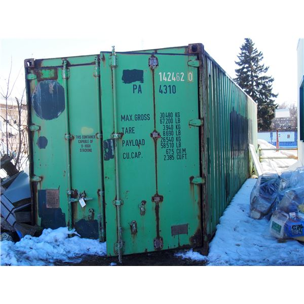 C-Can Storage Unit About 40ft Long (No Contents)