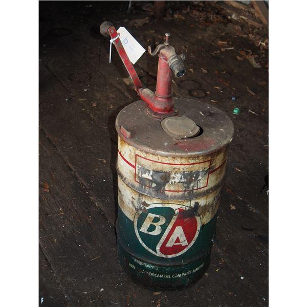 B/A Barrel with Pump