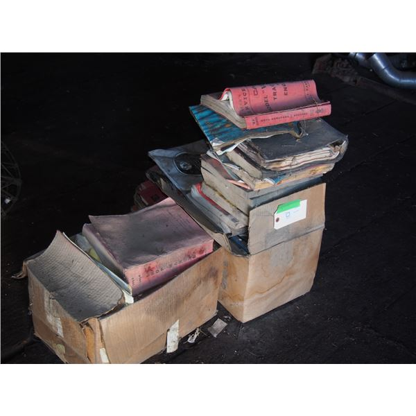 Lot of Manuals (Very Poor Condition)