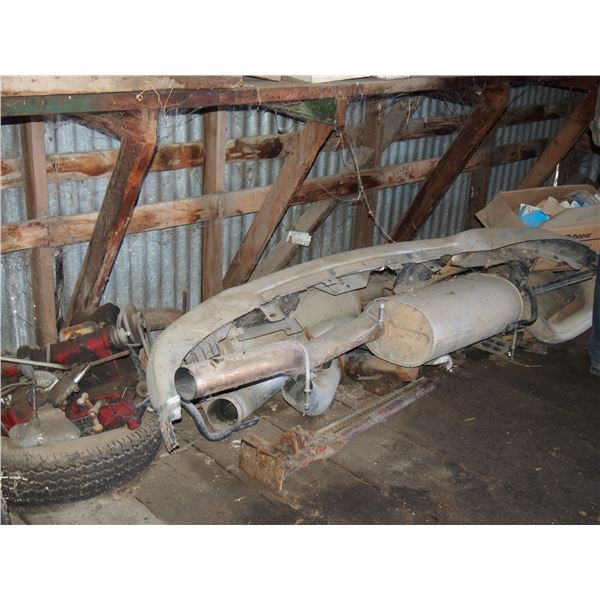 Semi Parts, Exhaust, Mufflers and Misc