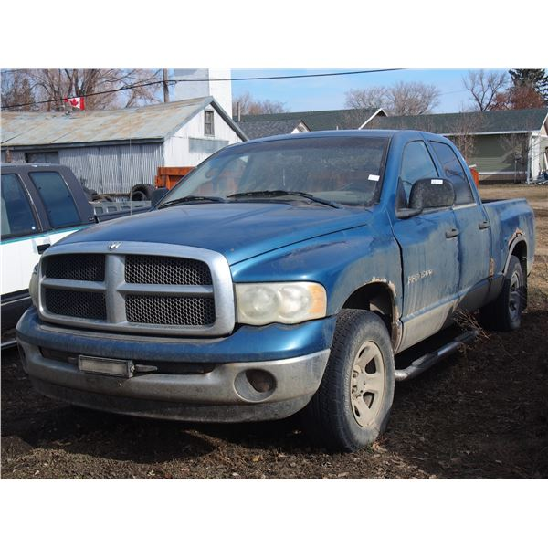 Dodge Ram 1500 4x4 Ext Cab Pickup for Parts (could not see serial #)