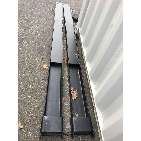 BRAND NEW SINGLE PAIR OF GREATBEAR 10' 6600LBS FORKLIFT FORK EXTENSIONS