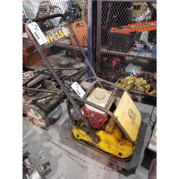 WAGNER WP 1550 PLATE COMPACTOR