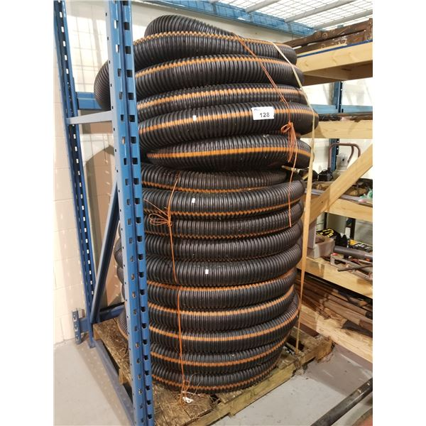 PALLET OF LARGE COMMERCIAL SIZE HOSE