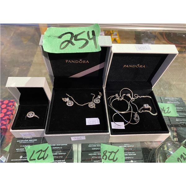PANDORA RING & NECKLACE SET