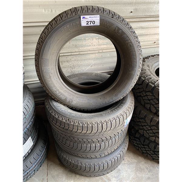 4 MICHELIN 225/65R17 TIRES *$5 PER TIRE ECO-LEVY WILL BE CHARGED*