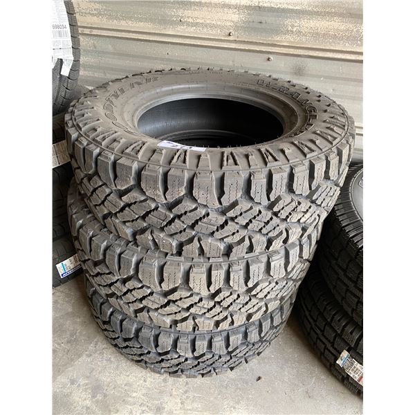 3 GOODYEAR WRANGLER LT265/70R17 TIRES *$5 PER TIRE ECO-LEVY WILL BE CHARGED*