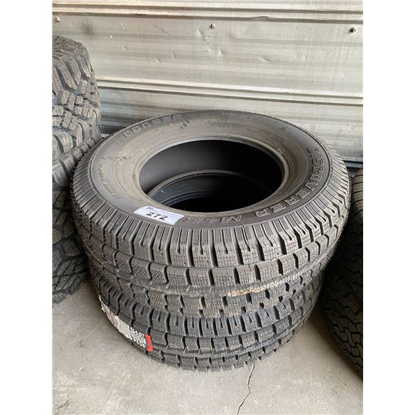 2 COOPER DISCOVER M+S LT265/70R17 TIRES *$5 PER TIRE ECO-LEVY WILL BE CHARGED*
