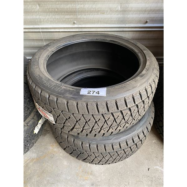 2 BRIDGESTONE 275/40R20 TIRES *$5 PER TIRE ECO-LEVY WILL BE CHARGED*