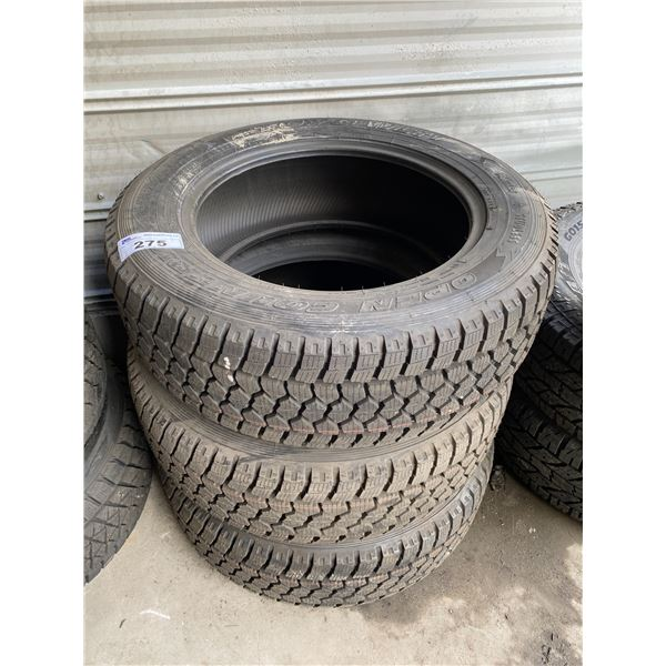 3 TOYOTIRES OPEN COUNTRY  LT265/60R20 TIRES *$5 PER TIRE ECO-LEVY WILL BE CHARGED*
