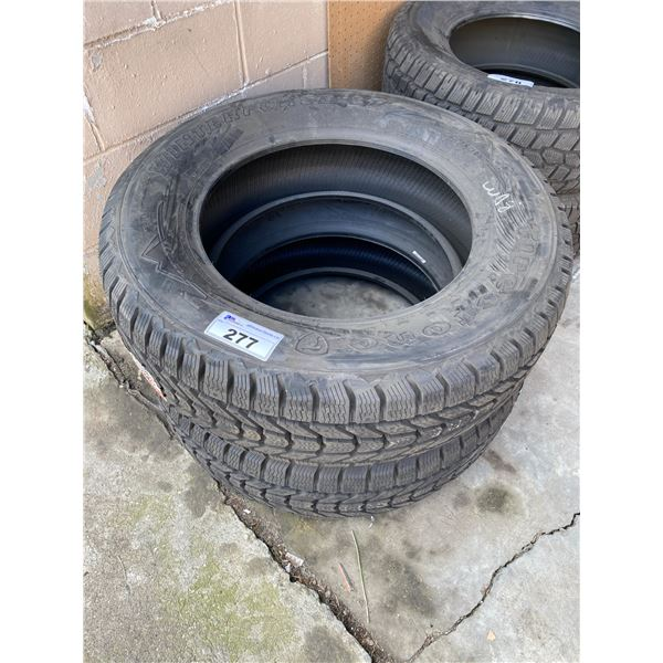 2 FIRESTONE WINTERFORCE LT 275/65R20 M+S TIRES *$5 PER TIRE ECO-LEVY WILL BE CHARGED*