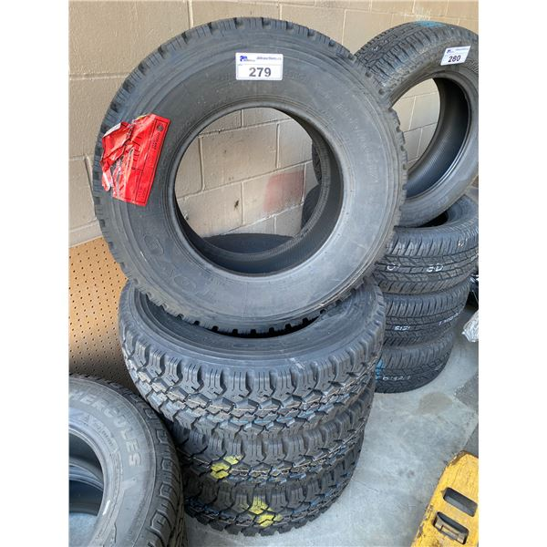 4 TOYOTIRES LT265/70R17 TIRES *$5 PER TIRE ECO-LEVY WILL BE CHARGED*