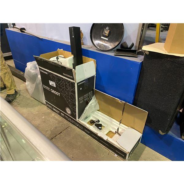 SAMSUNG Q800T SOUNDBAR & SUBWOOFER