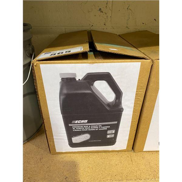 BOX OF 4 ECHO PREMIUM BAR & CHAIN OIL (4X 1 GALLON)