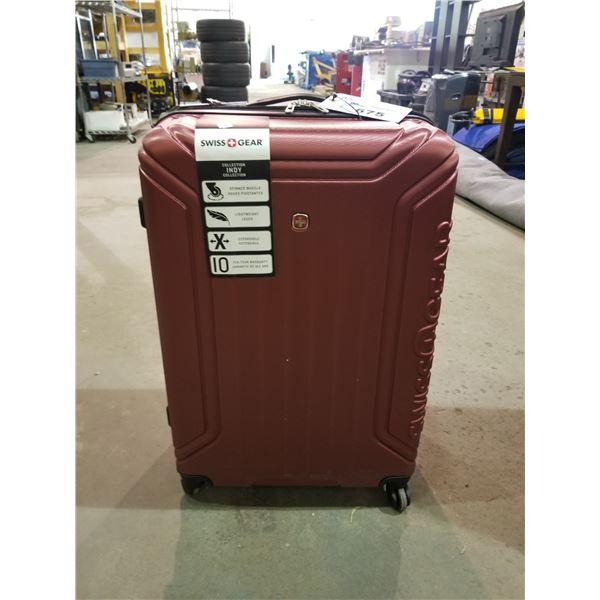 OXBLOOD SWISS GEAR 3-PC LUGGAGE SET