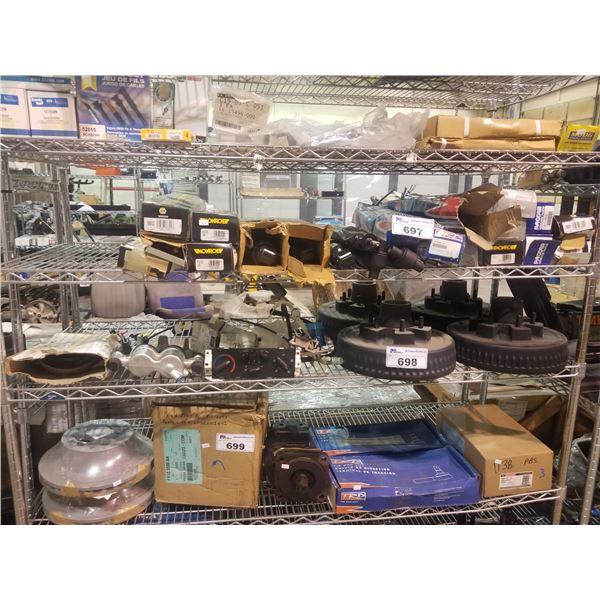 TEMPERATURE GAUGES, MAXIMUM REBORE DRUMS & ASSORTED AUTOMOTIVE PARTS