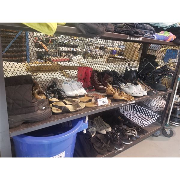 ASSORTED WOMENS & KIDS SHOES/BOOTS