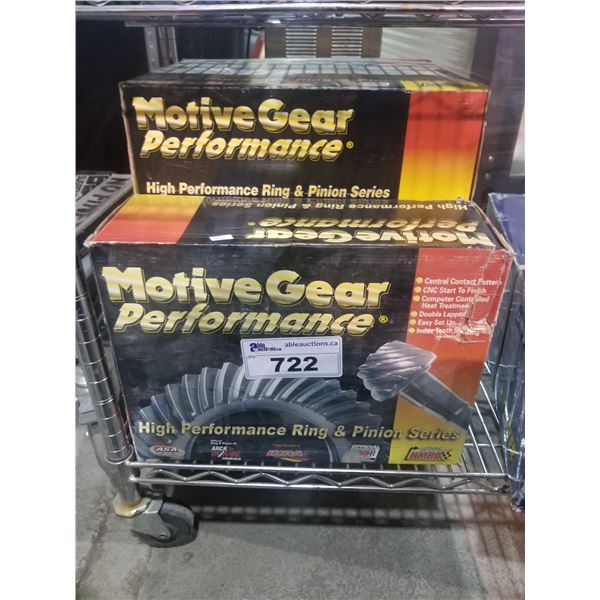 4 BOXES OF MOTIVE GEAR PERFORMANCE RING & PINIONS