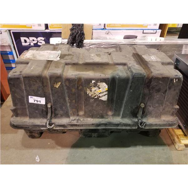 LARGE PLASTIC STORAGE BOX WITH TRANSMISSION