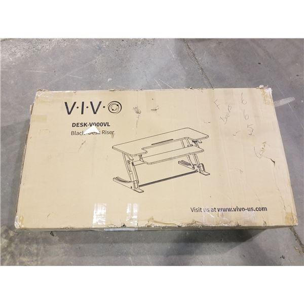 V.I.V. DESK-V000VL, BLACK DESK RISER