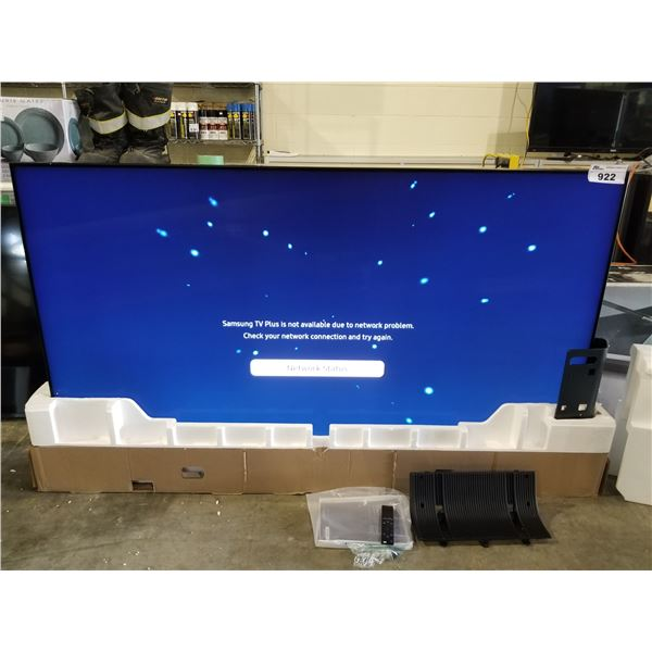 """SAMSUNG 75"""" QLED 8K T.V. MODEL QN75Q800TAF (WITH REMOTE, CORD & STAND)"""