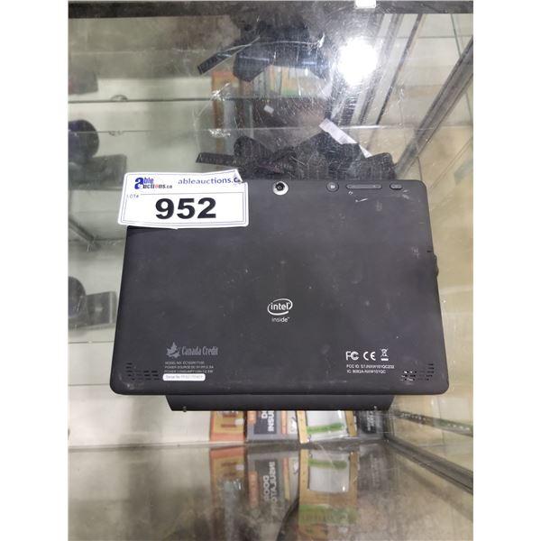 INTEL INSIDE LAPTOP MODEL-CC102IN1T100 HARD DRIVE REMOVED
