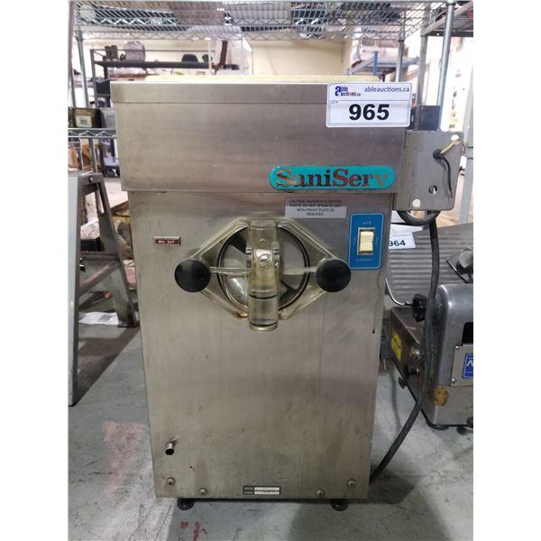 SANI-SERV SOFT ICE-CREAM MAKER, MODEL-707A (NEEDS TLC)
